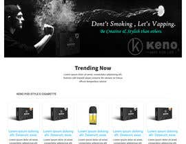 Nro 18 kilpailuun Full home page design käyttäjältä Shaonkabir