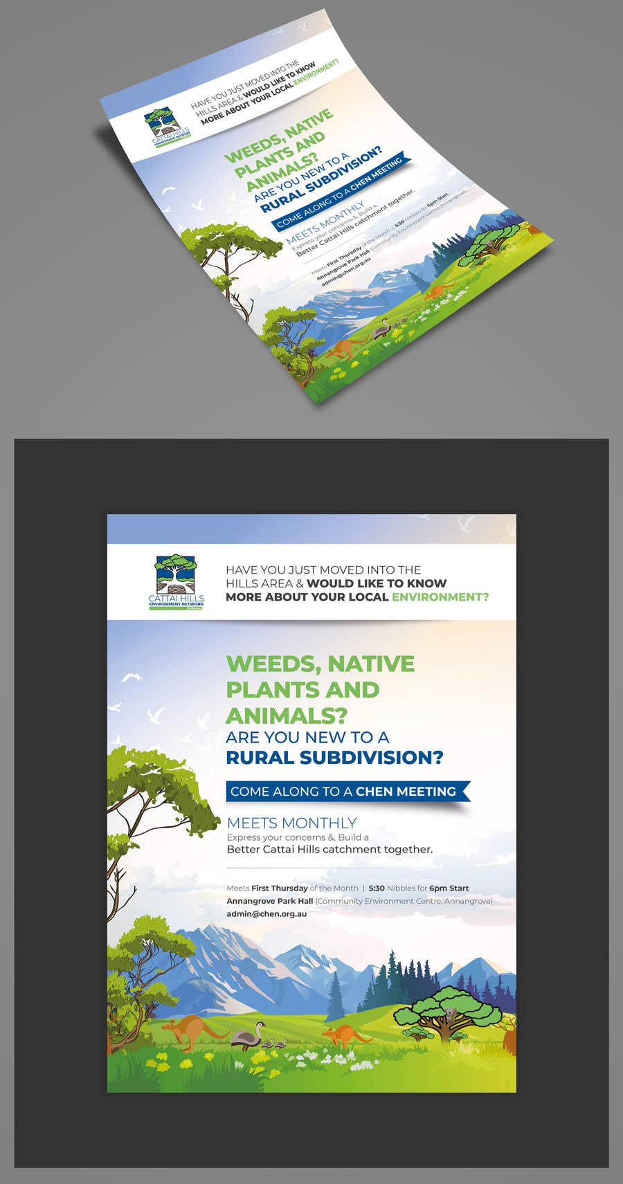 Contest Entry #26 for Poster for environment group