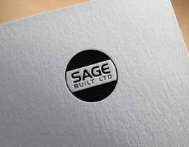#29 для I need a Logo for my new company Sage Built Ltd. I really like the old retro Esso logo attached. I would like outside red perimeter to be dark forest green , with black cursive font in lieu of navy. The person with the best logo design wins, Good luck! от shahadatmizi
