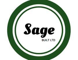 #16 для I need a Logo for my new company Sage Built Ltd. I really like the old retro Esso logo attached. I would like outside red perimeter to be dark forest green , with black cursive font in lieu of navy. The person with the best logo design wins, Good luck! от aleksaantic