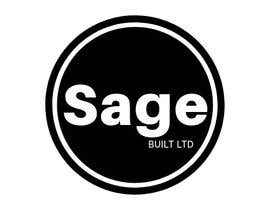 #19 для I need a Logo for my new company Sage Built Ltd. I really like the old retro Esso logo attached. I would like outside red perimeter to be dark forest green , with black cursive font in lieu of navy. The person with the best logo design wins, Good luck! от aleksaantic