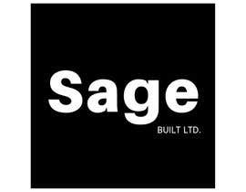#23 для I need a Logo for my new company Sage Built Ltd. I really like the old retro Esso logo attached. I would like outside red perimeter to be dark forest green , with black cursive font in lieu of navy. The person with the best logo design wins, Good luck! от aleksaantic
