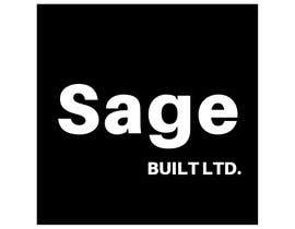 #25 для I need a Logo for my new company Sage Built Ltd. I really like the old retro Esso logo attached. I would like outside red perimeter to be dark forest green , with black cursive font in lieu of navy. The person with the best logo design wins, Good luck! от aleksaantic