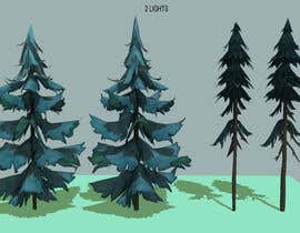 #13 for 3D modeling and texturing for landscape in video game by jaybattini