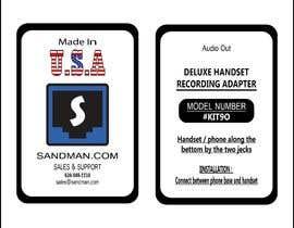 #6 pentru Product Label Design de către Danian0789
