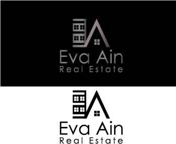 Penyertaan Peraduan #17 untuk I am looking for a sleek and modern logo for my real estate business. The name is Eva Ain Real Estate and my initials are EA.  You can use a house or not, I am okay with either. I am looking for silver/black or silver/black/red. Thank you!