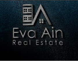 #18 untuk I am looking for a sleek and modern logo for my real estate business. The name is Eva Ain Real Estate and my initials are EA.  You can use a house or not, I am okay with either. I am looking for silver/black or silver/black/red. Thank you! oleh ihsanaryan
