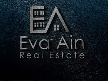 Penyertaan Peraduan #20 untuk I am looking for a sleek and modern logo for my real estate business. The name is Eva Ain Real Estate and my initials are EA.  You can use a house or not, I am okay with either. I am looking for silver/black or silver/black/red. Thank you!