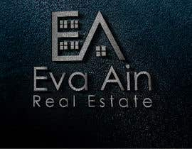 #20 untuk I am looking for a sleek and modern logo for my real estate business. The name is Eva Ain Real Estate and my initials are EA.  You can use a house or not, I am okay with either. I am looking for silver/black or silver/black/red. Thank you! oleh ihsanaryan