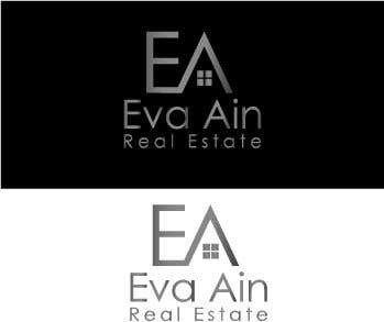 Penyertaan Peraduan #21 untuk I am looking for a sleek and modern logo for my real estate business. The name is Eva Ain Real Estate and my initials are EA.  You can use a house or not, I am okay with either. I am looking for silver/black or silver/black/red. Thank you!