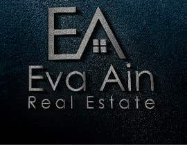 #22 untuk I am looking for a sleek and modern logo for my real estate business. The name is Eva Ain Real Estate and my initials are EA.  You can use a house or not, I am okay with either. I am looking for silver/black or silver/black/red. Thank you! oleh ihsanaryan