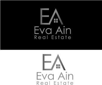 Penyertaan Peraduan #28 untuk I am looking for a sleek and modern logo for my real estate business. The name is Eva Ain Real Estate and my initials are EA.  You can use a house or not, I am okay with either. I am looking for silver/black or silver/black/red. Thank you!