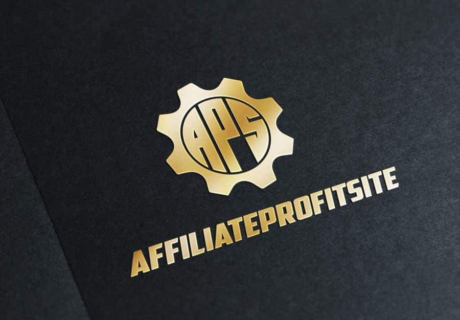 "Intrarea #133 pentru concursul ""I'm putting together a site called: affiliateprofitsite. I would like a logo similar to the examples attached. I want it easy to read, clean, modern and the color scheme should consist of blue, orange, black and white or the Clickfunnels colors lol."""