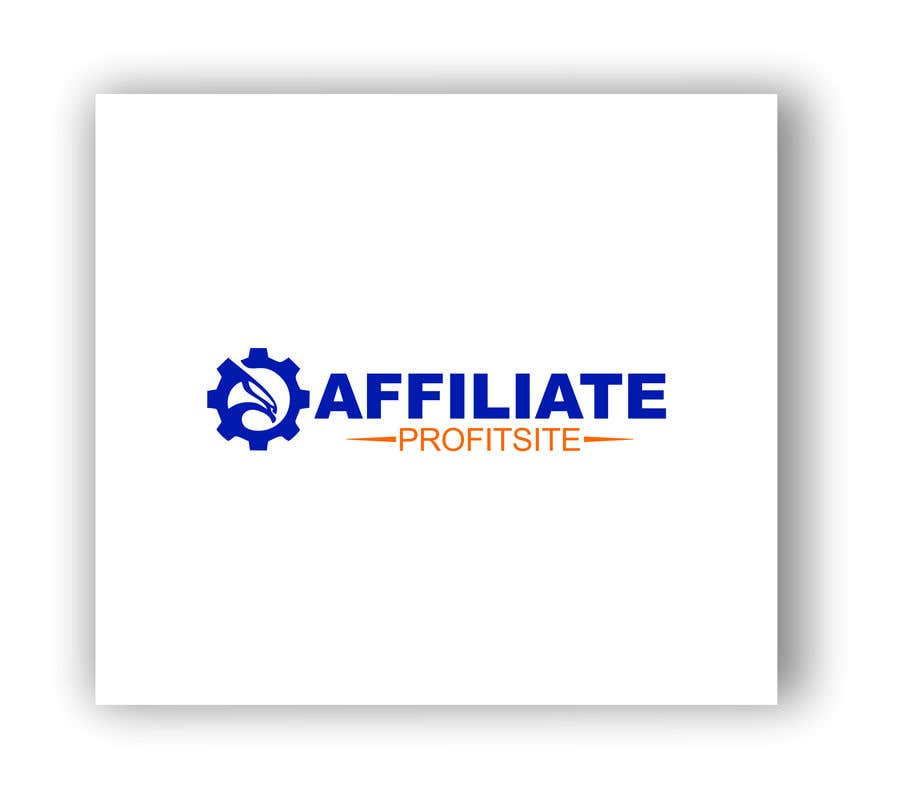 "Intrarea #80 pentru concursul ""I'm putting together a site called: affiliateprofitsite. I would like a logo similar to the examples attached. I want it easy to read, clean, modern and the color scheme should consist of blue, orange, black and white or the Clickfunnels colors lol."""