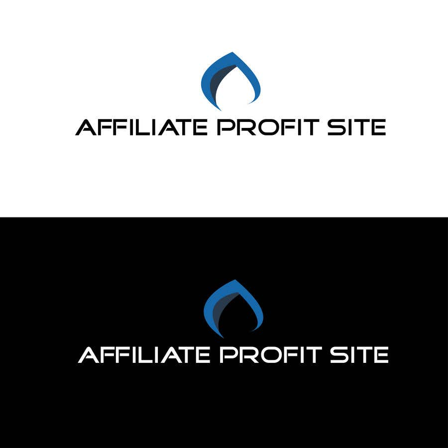"Intrarea #366 pentru concursul ""I'm putting together a site called: affiliateprofitsite. I would like a logo similar to the examples attached. I want it easy to read, clean, modern and the color scheme should consist of blue, orange, black and white or the Clickfunnels colors lol."""