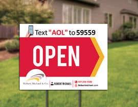 #21 cho Open House Sign bởi waqassipra444
