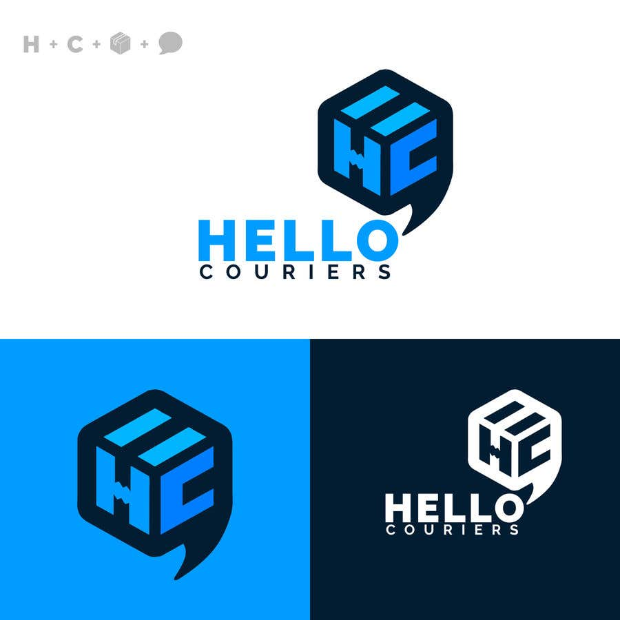 Entry #119 by tisirtdesigns for logo designed for courier business