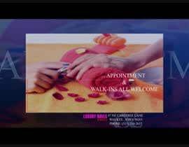 #2 untuk Tv Video slide show for a nail salon oleh rizwansarwarcg