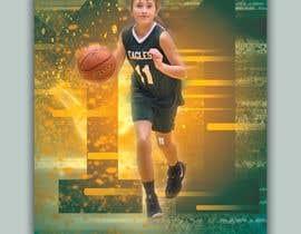 #105 para Sports Basketball Poster por alamin495