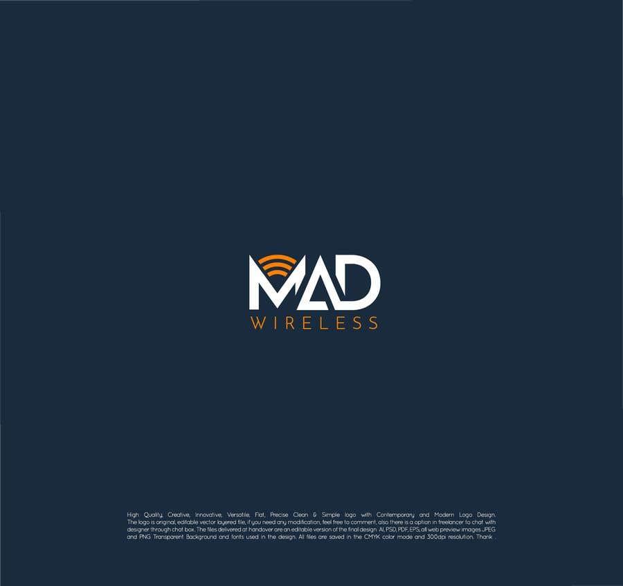 Konkurrenceindlæg #191 for Logo Design for Mad Wireless