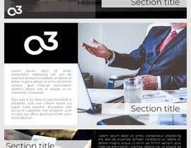 sumaiya505 tarafından Create a Powerpoint Template/master based on our brand identity için no 6