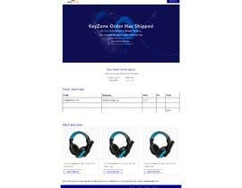 nº 9 pour Build email design for orders delivery and slideshow design for website par Shaleh4044