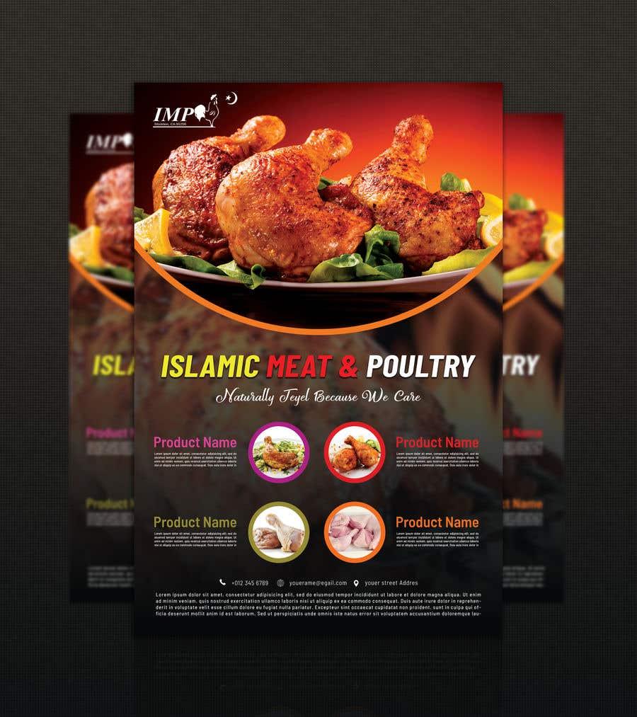 Kilpailutyö #12 kilpailussa Create a poster advertising chicken meat