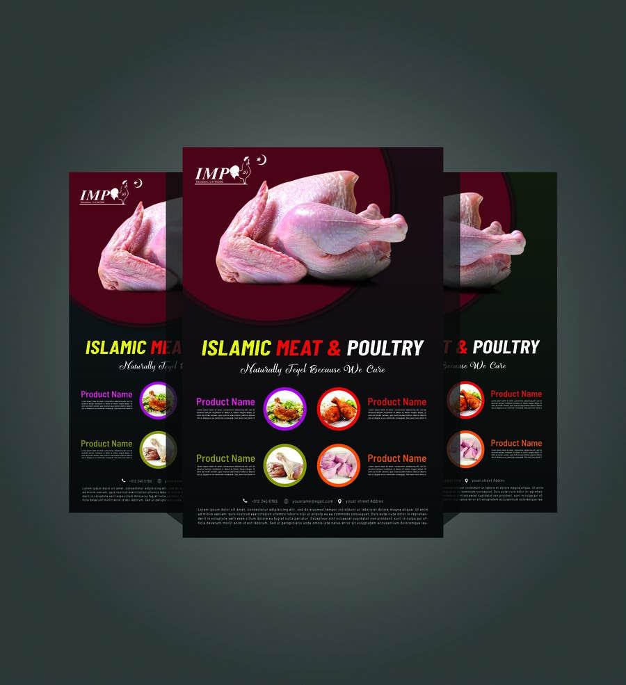 Kilpailutyö #24 kilpailussa Create a poster advertising chicken meat