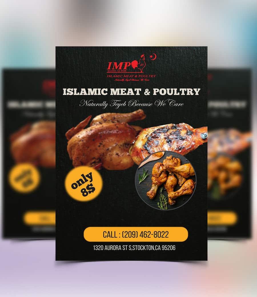 Kilpailutyö #81 kilpailussa Create a poster advertising chicken meat