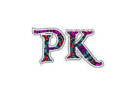 """nº 33 pour i need design for initials """"PK"""", it will be used in wedding purpose, luggage tags etc. par imnitesh97"""