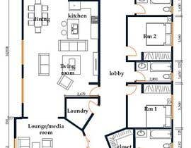 #13 for House redesign (floor plan & basic exterior sketches only) af TMKennedy