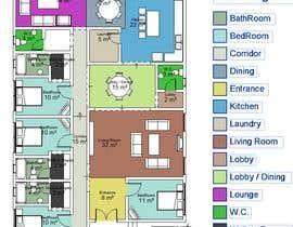 #9 for House redesign (floor plan & basic exterior sketches only) af amgadgaafar