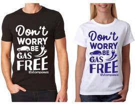 nº 59 pour Create a funny sticker/t-shirt/mug design promoting electric cars par feramahateasril
