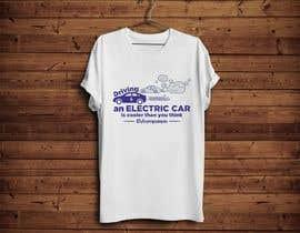 nº 39 pour Create a funny sticker/t-shirt/mug design promoting electric cars par danijelaradic