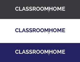 nº 49 pour Logo for an online educational website Classroom Home par MOMODart
