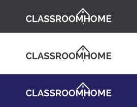 nº 50 pour Logo for an online educational website Classroom Home par MOMODart