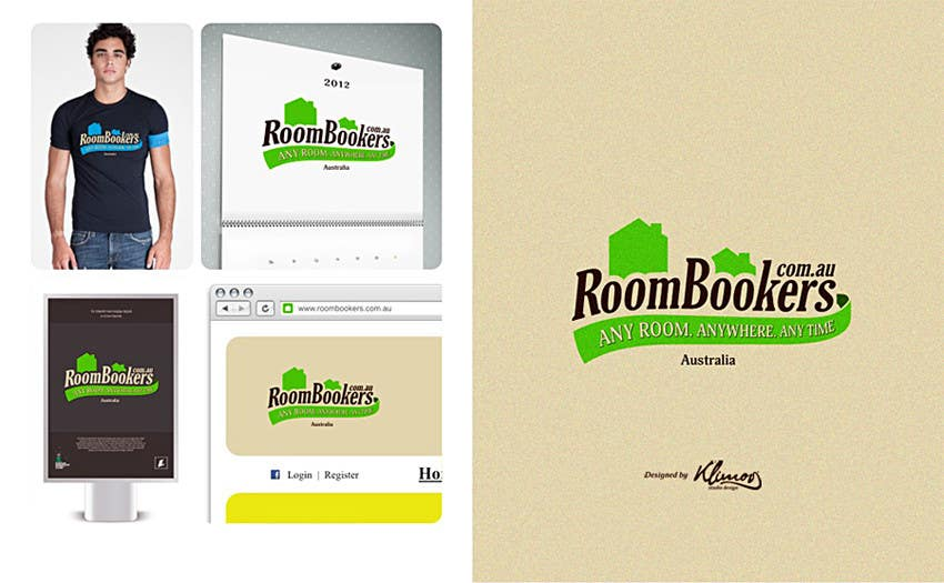 Contest Entry #                                        239                                      for                                         Logo Design for www.roombookers.com.au
