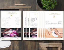 #38 for Create a elegant and clean spa price list by Caridev