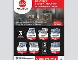 #102 para Develop Student Housing Marketing Flyer/Poster por darbarg