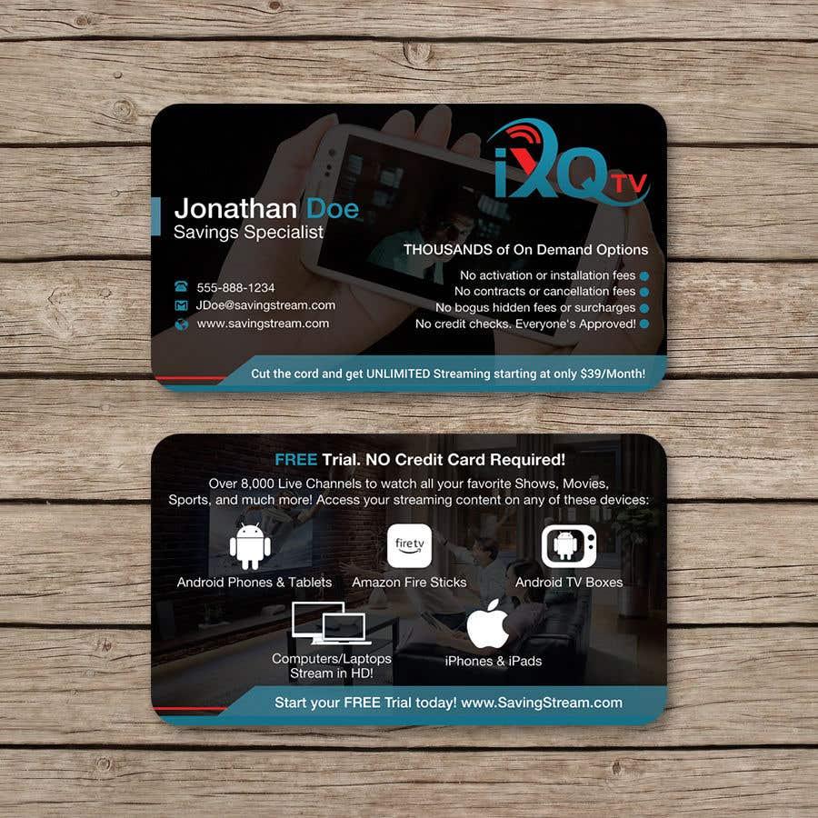 Inscrição nº 54 do Concurso para Design Double Sided Business Cards *MULTIPLE WINNER*