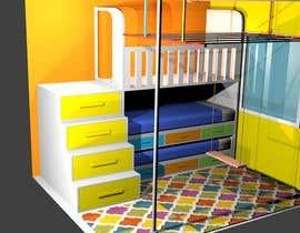#6 pentru Design a cool bed for my two boys (5 and 2). de către Moshaf3