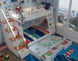 #10 pentru Design a cool bed for my two boys (5 and 2). de către emadbahgat888