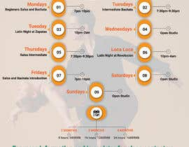 #33 pentru Make a weekly schedule for a dance studio de către sk01741740555