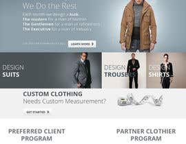 tania06 tarafından Website Design for Magento Ecommerce Site - Mens custom clothing için no 2