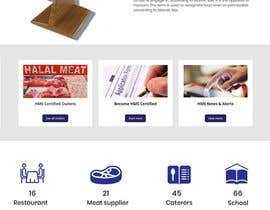 #59 for Design a Website for a Halal Meat Certifying Agency in US af webzonebd