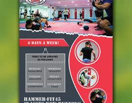 #30 for Re-design flyer for HF45 classes af ikramhq