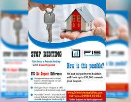 Nro 108 kilpailuun Create a flyer - No Deposit Homes käyttäjältä rashedbulet
