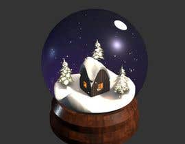 #20 for 3D model PBR/GLTF - Villa & Snowglobe by SliderUA