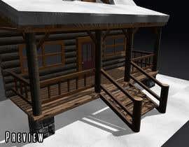 #25 pentru 3D model PBR/GLTF - Villa & Snowglobe de către rafaelvieira93