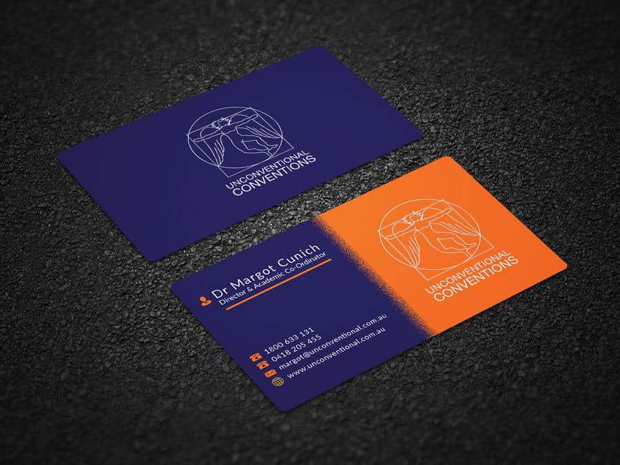 Kilpailutyö #202 kilpailussa Design a business card